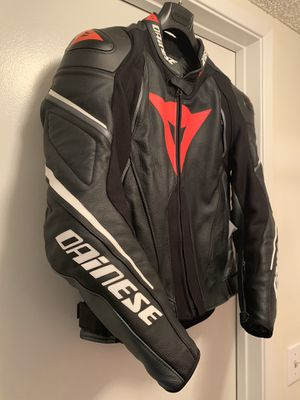 Dainese SUPER SPEED D1 Motorcycle LEATHER JACKET 52 for Sale in Burbank, CA