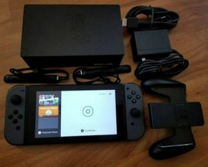 Nintendo Switch newest version Gray Joy-Cons System for Sale in Denver, CO