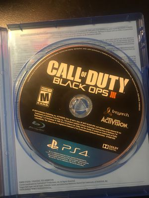 Call of duty Black Ops 3 ps4 for Sale in Federal Way, WA
