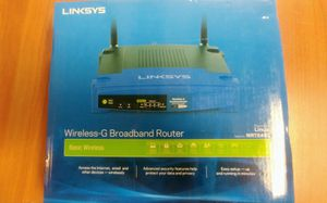 Linksys Wireless G Broadband Router WRT54GL for Sale in Rochester Hills, MI