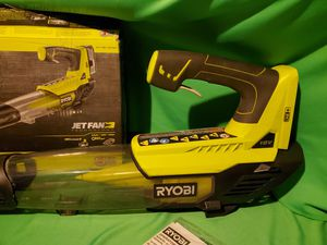 RYOBI CORDLESS 18V YARD BLOWER for Sale in Beaumont, CA