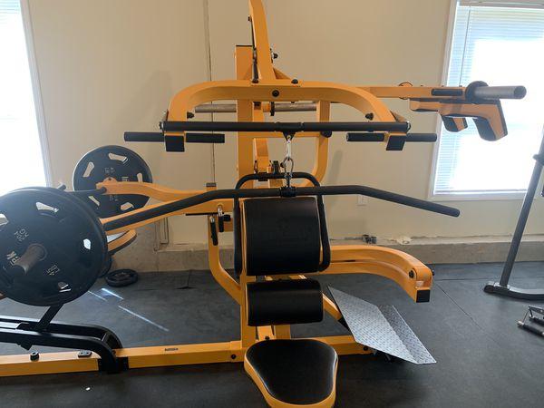 Home gym Powertec system