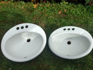 Set of Coated Cast iron sinks for Sale in Puyallup, WA