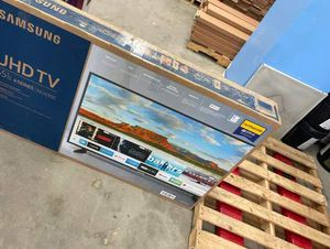 Samsung 55 inch tv nu6900 😎😎😎 3H for Sale in Dallas, TX