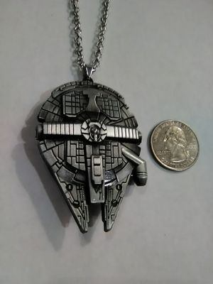 Millennium Falcon Star Wars Necklace for Sale in Columbus, OH