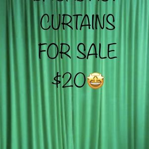 😃BACKDROP CURTAINS FOR SALE 💚 for Sale in Ontario, CA