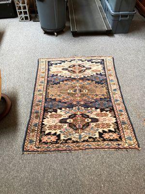 Antique Caucasian handmade All wool Carpet rug for Sale in Torrington, CT