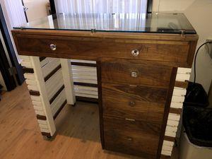 Custom Display Case/Standing Desk for Sale in Portland, OR
