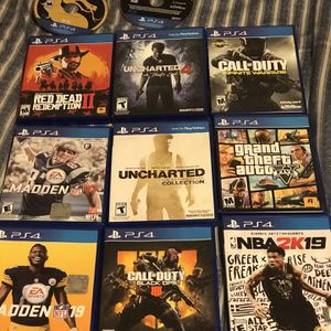 Ps4 Games! for Sale in Inman, SC