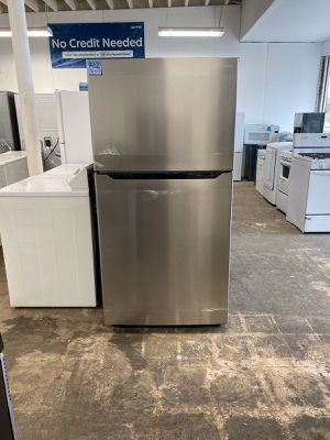 WE DELIVER! Insignia Refrigerator Fridge Stainless Steel Delivery Available #751 for Sale in Burlington, NJ