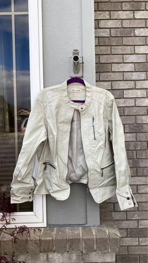 Tan Leather Jacket for Sale in East Wenatchee, WA