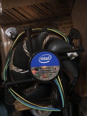 Intel E97379-001 cpu fan for computer parts accessory 4 pin for Sale in Walnut, CA