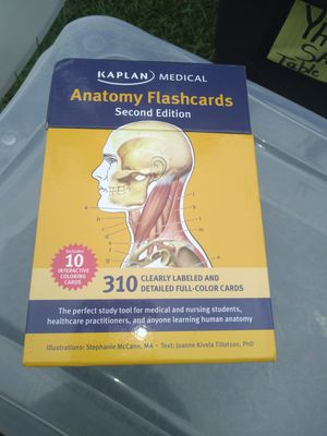 Anatomy flash cards for Sale in Montgomery, AL