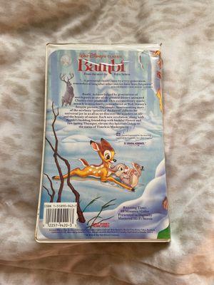 Walt Disney's classic Bambi (black diamond edition) for Sale in Fullerton, CA