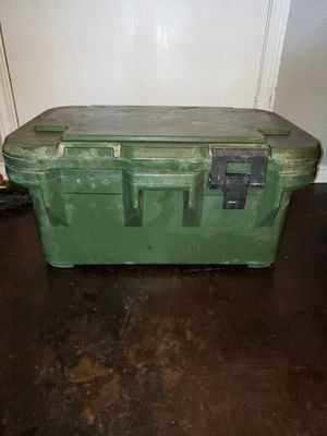 Army food carrier Cambro stainless steel inserts for Sale in Killeen, TX