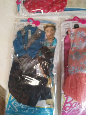 Barbie and Ken clothes brand new in packages for Sale in Fresno, CA