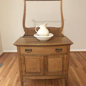 Antique furnuture & Vase & Bowl for Sale in Laurel, MD