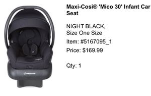 Maxi Cosí 'mico 30' infant car seat for Sale in Romeoville, IL