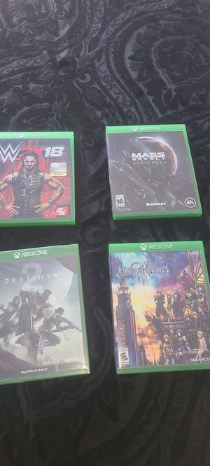 Xbox one games for Sale in Fontana, CA