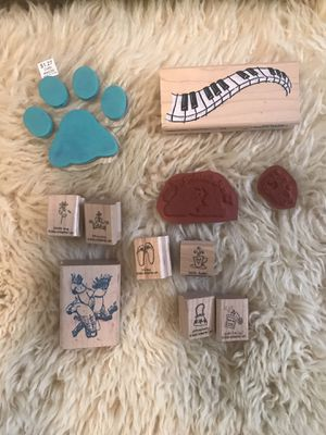 Rubber Stamps (11) for Sale in Sheridan, CO