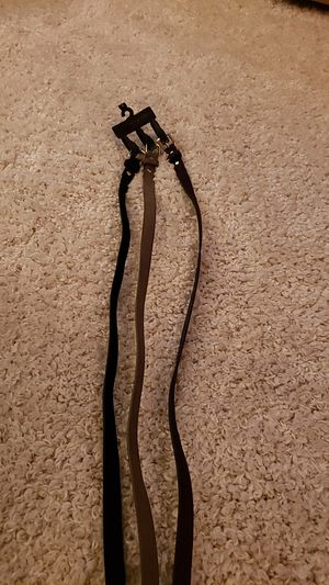 3 pack Thin Belts for Sale in Elk Grove, CA