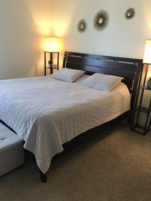 California King Bed with Mattress for Sale in Portland, OR