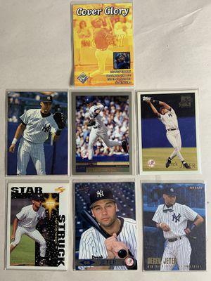 Lot of 7 Derek jeter baseball cards new HOFer! Legend for Sale in La Mesa, CA