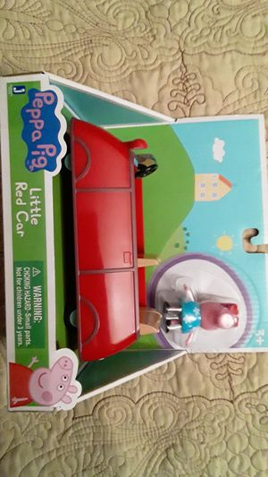 PEPPA PIG RED CAR NEW TOYS $15 ✔✔✔PRICE IS FIRM✔✔✔ for Sale in South Gate, CA