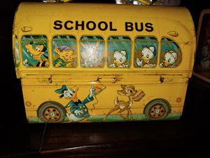 1960 vintage disney lunch box for Sale in Canton, TX