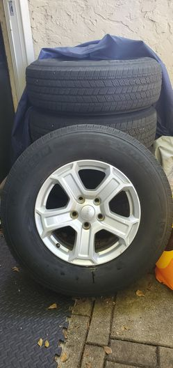 Jeep Wrangler JL Wheels (5) for Sale in Coconut Creek,  FL