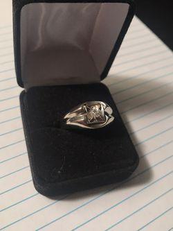14k Men's White Gold Ring for Sale in Fremont,  CA