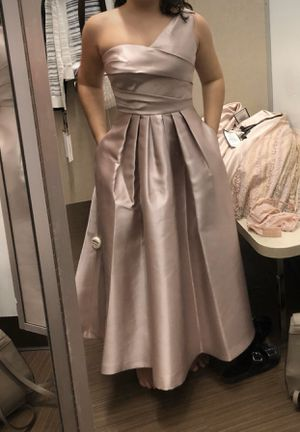 Nude Rose one shoulder dress size 4 for Sale in Damascus, MD