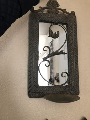 Metal candle holder for Sale in Canyon Lake, CA