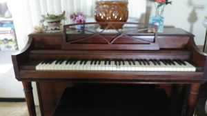 Gulbrandsen solid wood piano with bench for Sale in Lakeland, FL