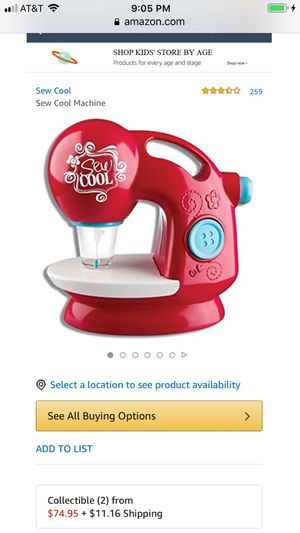 Sew Cool Sewing Machine for Kids Comes in Hot Pink and is in Excellent condition!🌹Please read description for more details.🌹 for Sale in San Antonio, TX
