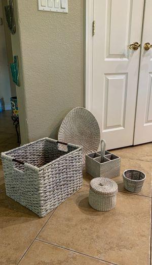 Wicker baskets for Sale in Las Vegas, NV