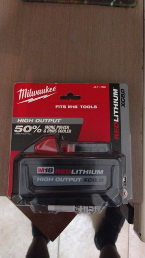 Milwaukee m18 red lithium 8.0 for Sale in Fort Lauderdale, FL