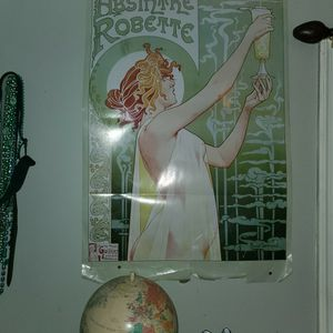 Absinthe Roxette Poster for Sale in Woolwich Township, NJ