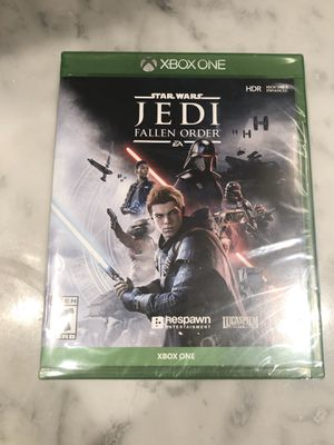 Star Wars Jedi Fallen Order XBOX ONE Sealed for Sale in Fort Lauderdale, FL