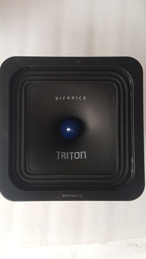 "Hifonics Triton HF-8SQ-I4 Square 8"" 200W RMS Pro Audio Midrange Speaker 400W Max 4 Ohm (Each) for Sale in Santa Ana, CA"