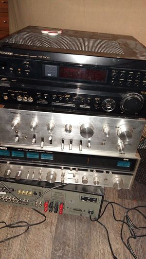 Oldies but goodies stereos vintage amplifiers for Sale in Glenwood, OR