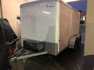 6x12 Enclosed Trailer for Sale in Jurupa Valley, CA