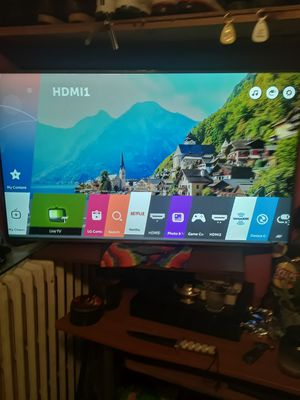 LG 4k HD works great 55 inch Firm Price for Sale in Trenton, NJ