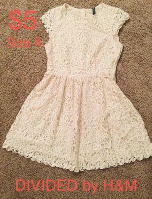 DIVIDED by H&M, Beige Lace Dress, Size 4 for Sale in Phoenix, AZ