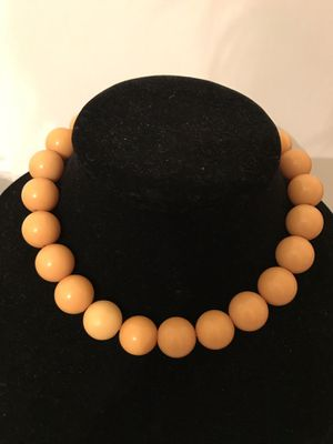 Antique butterscotch Bakelite choker for Sale in McLean, VA