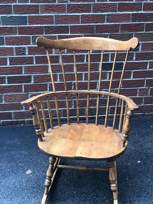 Vintage Wooden Rocking Chair for Sale in DORCHESTR CTR, MA