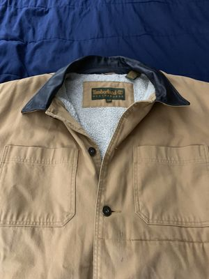 Timberland Coat 2x with leather collar like new!! for Sale in FL, US