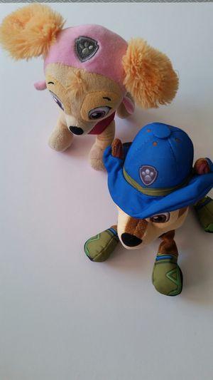 2 Paw Patrol plush toys for Sale in Hawthorne, CA