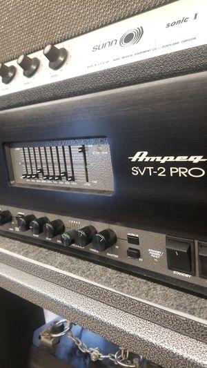 Ampeg SVT-2 PRO Bass Amp 300Watt for Sale in Westminster, CA