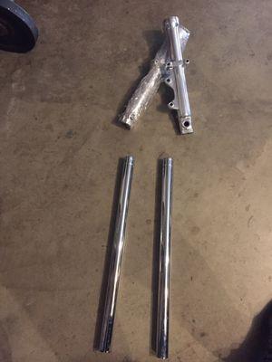 Harley Davidson front chrome shocks for Sale in Visalia, CA